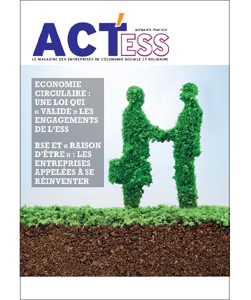 Couverture du 3e numéro d'ACT'ESS