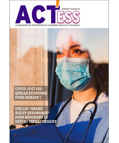 Couverture du 4e numéro d'ACT'ESS