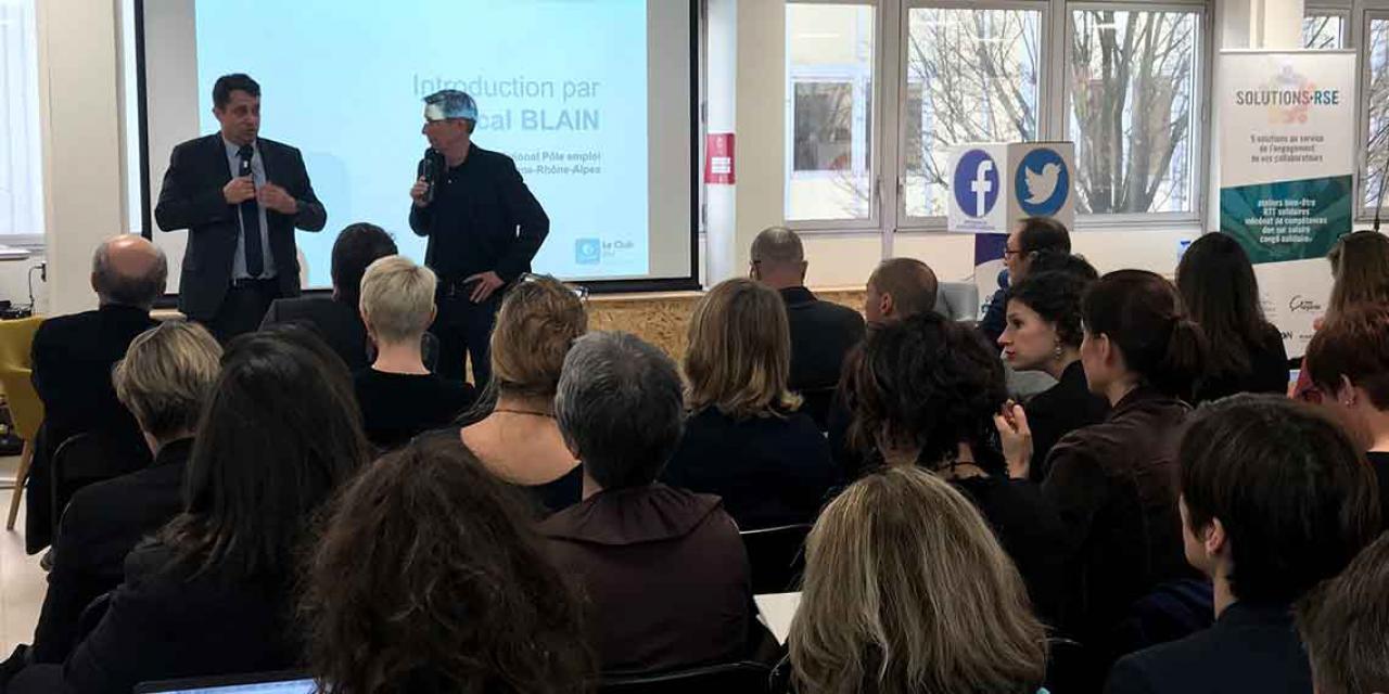 Club RH organisé par Pôle emploi Auvergne-Rhône-Alpes le 7 mars 2019