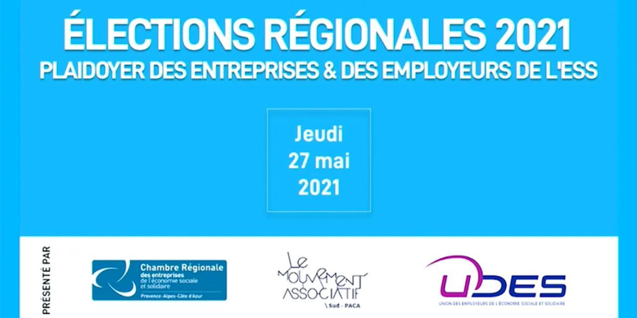 Elections régionales 2021 Provence-Alpes-Côte d'Azur : un mandat pour l'accompagnement des transitions