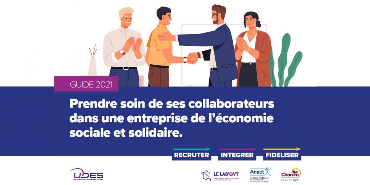 Un guide pour accompagner les employeurs de l'ESS dans le processus d'intégration de nouveaux salariés