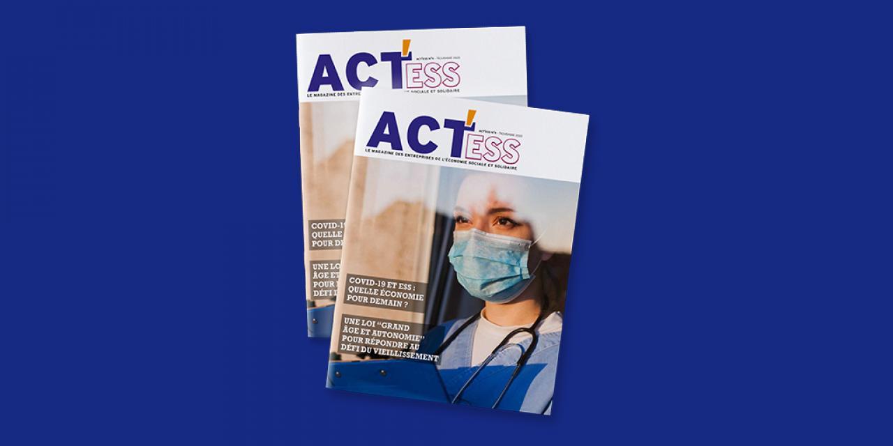 4e numéro du Magazine ACT'ESS