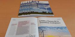1er numéro du magazine de l'UDES : ACT'ESS