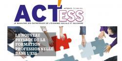 Couverture du second numéro du magazine ACT'ESS