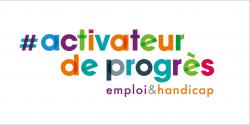 """Logo de la démarche """"Activateur de progrès"""""""