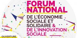 Illustration du Forum National de l'ESS et de l'innovation sociale