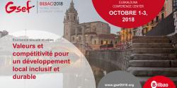 Visuel du forum mondial de l'ESS à Bilbao