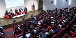 Photo de la salle lors de la matinée du 7 mars sur l'emploi des personnes en situation de handicap dans l'ESS