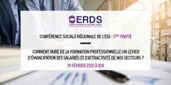 Deuxième étape de la Conférence sociale ESS Normandie