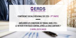 Troisième étape de la Conférence sociale ESS Normandie