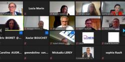 Dispositifs d'accompagnement aux structures de l'ESS en Pays de la Loire : retour sur la web conférence organisée par l'UDES, la CRESS et France Active