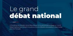 Visuel issu de la plateforme du Grand débat national