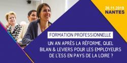Visuel de la matinée du 26 novembre sur la formation professionnelle en Pays de la Loire