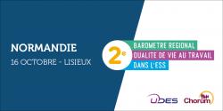 Visuel du baromètre QVT en Normandie