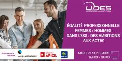 """Webconférence """"Egalité professionnelle femmes/hommes dans l'ESS : des ambitions aux actes"""""""