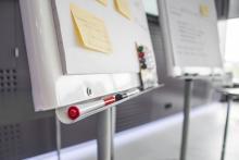 Paperboard pour illustrer le sujet de la formation professionnelle