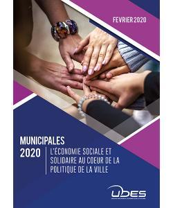 Les 40 propositions de l'UDES pour les municipales 2020