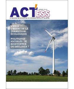Couverture du premier numéro du magazine ACT'ESS