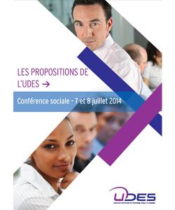 Illustration des propositions de l'UDES dans le cadre de la conférence sociale 2014