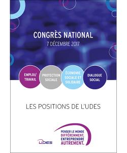Couverture positionnements UDES lors du congrès national