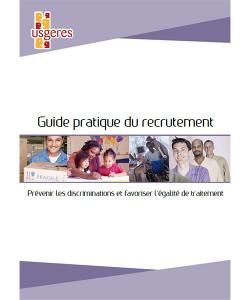 Couverture du guide pratique du recrutement