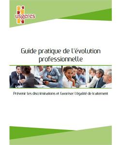 Couverture du guide pratique de l'évolution professionnelle