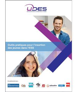 Couverture de l'outil pratique pour l'insertion des jeunes dans l'ESS
