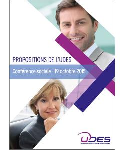 Illustration de la contribution UDES dans le cadre de la conférence sociale 2015