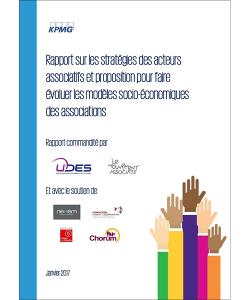 Couverture de l'étude sur les stratégies d'évolution des modèles socio-économiques des associations