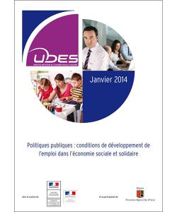 Couverture de l'étude sur les les conditions de développement de l'emploi des jeunes dans l'ESS
