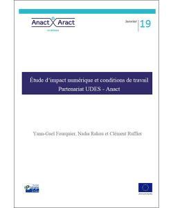 Couverture de l'étude UDES/Anact sur l'impact du numérique sur les conditions de travail et l'emploi dans l'ESS