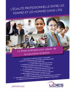 """Couverture du guide """"L' égalité entre les femmes et les hommes dans l'ESS"""""""