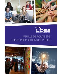 Couverture des 20 propositions de l'UDES pour le pacte de croissance pour l'ESS