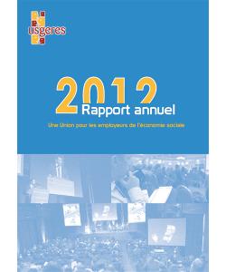 Couveture du rapport annuel 2012 de l'UDES (ex-Usgeres)